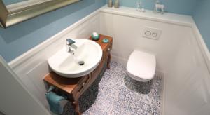 Aranżacja łazienki: postaw na wzorzyste płytki
