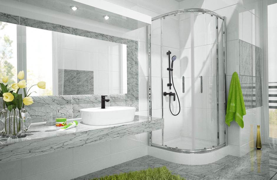 Kolekcja armatury łazienkowej Siros od Inveny