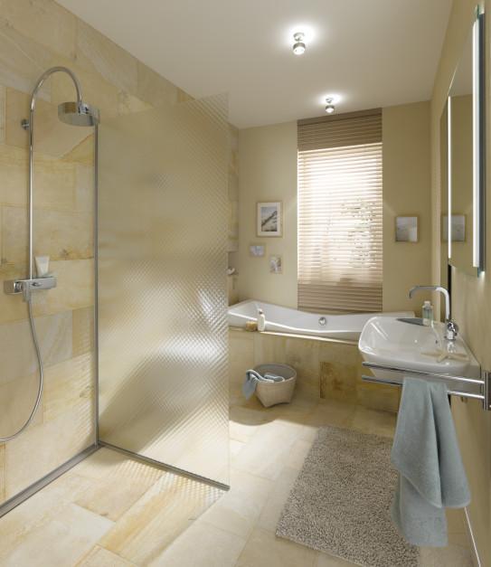 Szkło ornamentowe alternatywą dla płytek w łazience. Czy się sprawdzi?