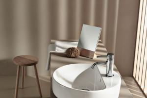 Strefa umywalki: zobacz serię o eleganckim wzornictwie