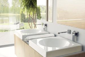 Podtynkowe baterie umywalkowe: 5 nowoczesnych modeli