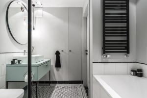 Łazienka w stylu skandynawskim: zobacz gotowy projekt