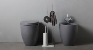 Kolekcja akcesoriów łazienkowych Moon od Bertocci