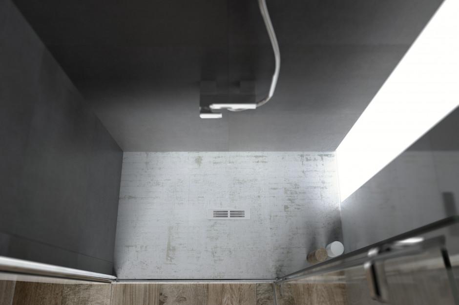 Brodzik prysznicowy - nie tylko biały!