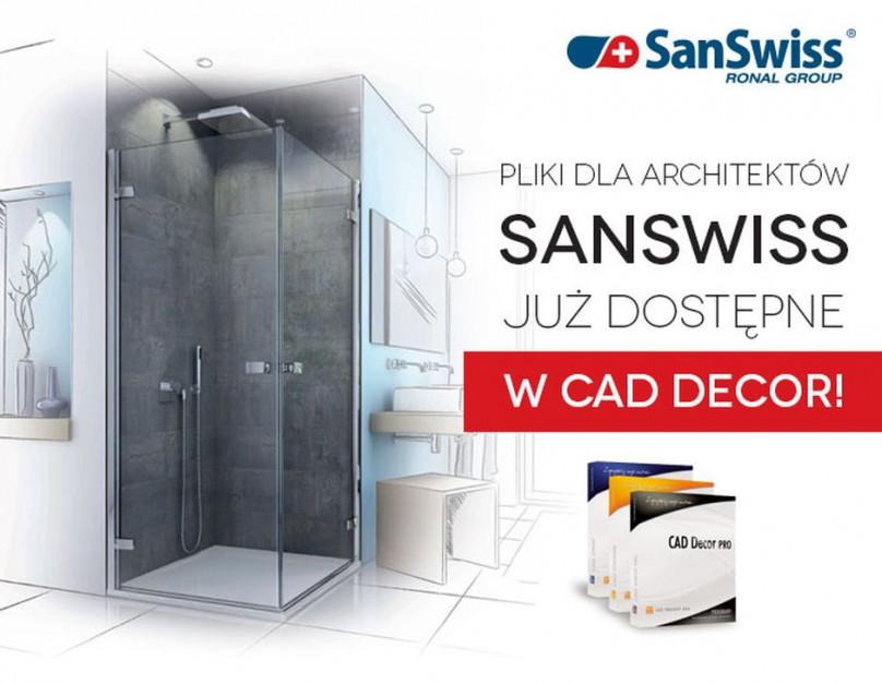Nowa baza modeli 3D SanSwiss w CAD Decor już dostępna
