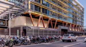 System rur Geberit HDPE w 6-piętrowym biurowcu z Sydney