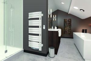 Grzejnik łazienkowy: zobacz serię z licznymi udogodnieniami