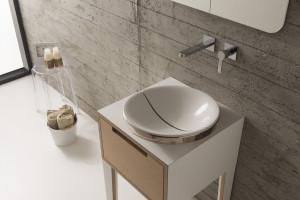 Elegancka łazienka: 5 modeli umywalek o miękkich kształtach