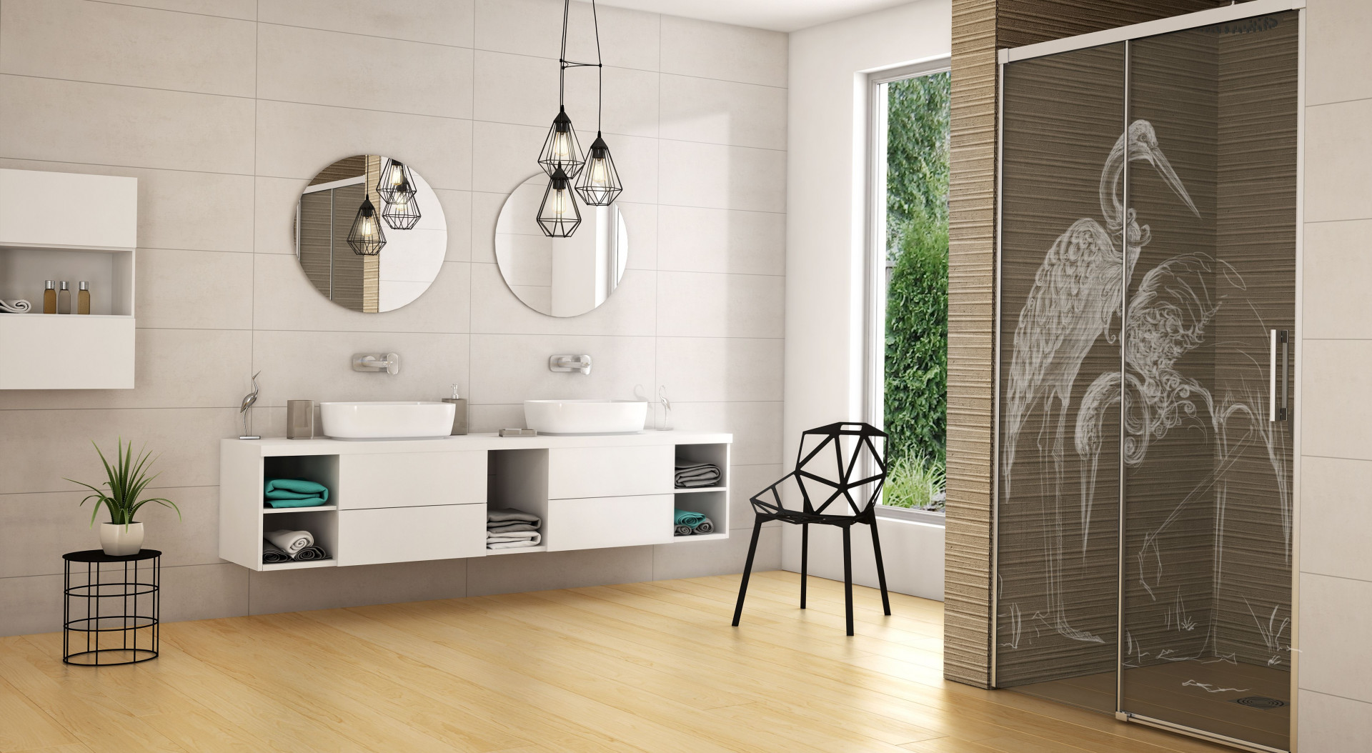Nowoczesna strefa prysznica: 12 modeli kabin