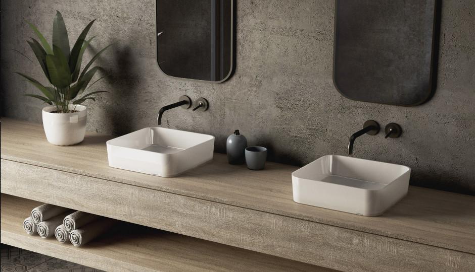Modna łazienka: urządź ją w surowym klimacie