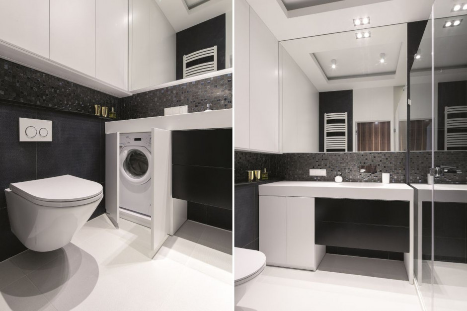 Łazienka z pralką: praktyczne pomysły z polskich domów