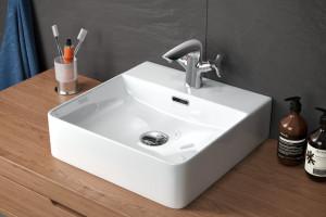 Umywalki stawiane na blat: 5 prostokątnych modeli