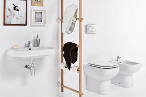 Stylowa łazienka: postaw na detal w kształcie drabiny