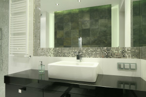 Ściana w strefie umywalki: inspiracje z polskich domów