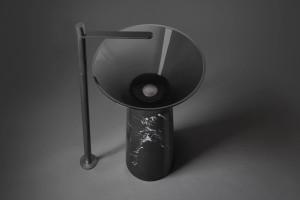 Przezroczyste umywalki Albume od Antonio Lupi Design