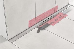 Nowoczesna strefa prysznica: odpływ na miarę potrzeb