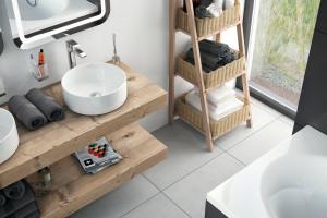 5 modeli okrągłych umywalek
