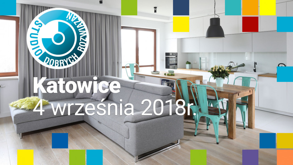 Studio Dobrych Rozwiązań: 4 września spotykamy się w Katowicach