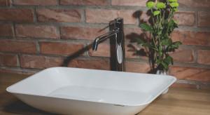 Nowoczesna łazienka: eleganckie umywalki z kompozytu