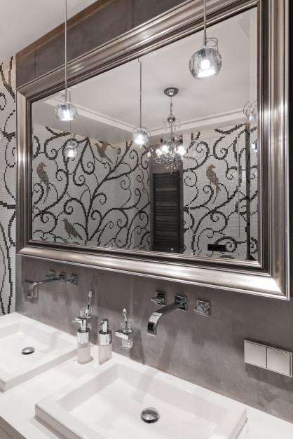 Eklektyczna łazienka: zobacz gotowy projekt