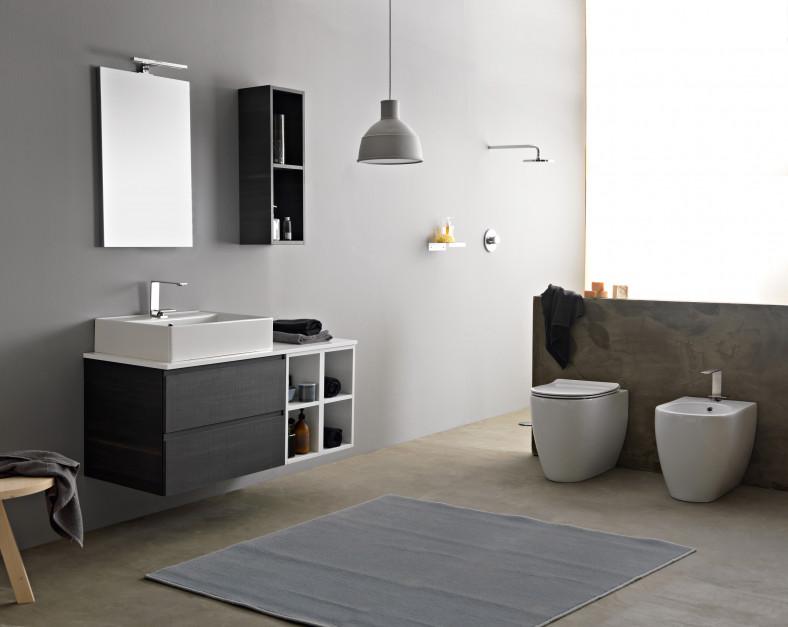 Meble łazienkowe: 5 modeli szafek pod umywalkę