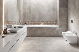 Płytki drewnopodobne: postaw na mozaikę w łazience