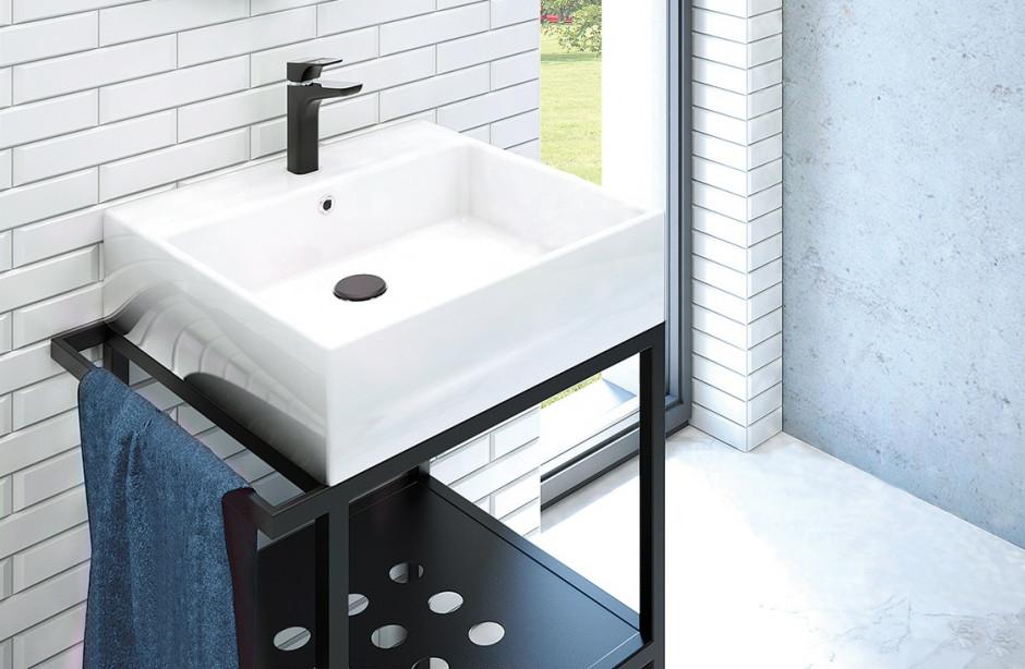 Industrialne i minimalistyczne trendy w łazience