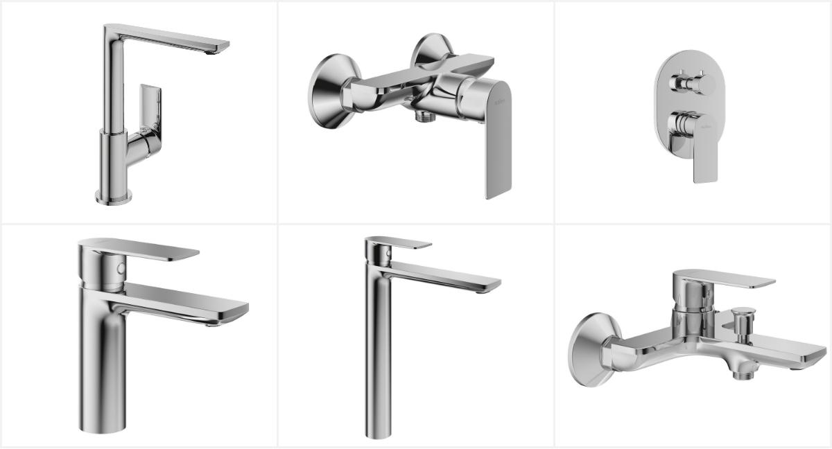 Istotna jest kwestia doboru odpowiedniej armatury łazienkowej, która będzie nie tylko estetycznie komponować się z kabiną prysznicową, ale też i z kuchnią. Fot. Excellent