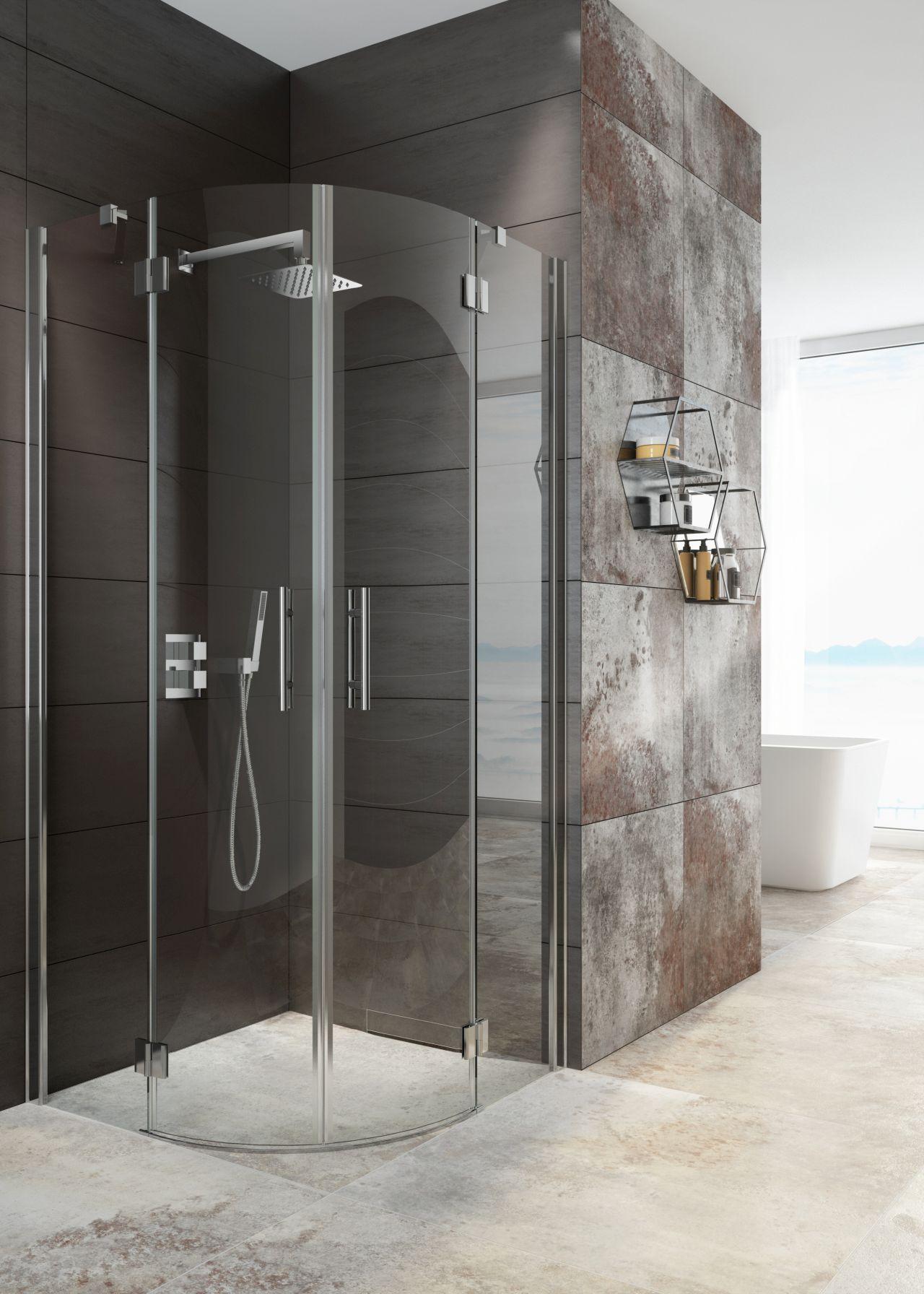 Innym nowoczesnym rozwiązaniem dla strefy prysznica są kabiny z serii Abelia. Fot. Deante