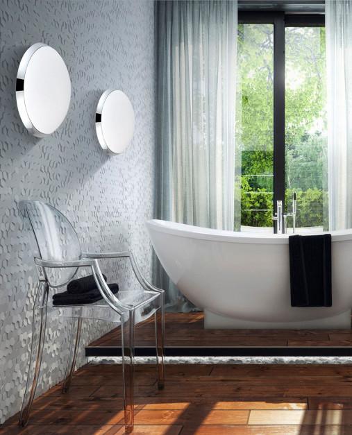 Nastrojowa aranżacja: tak stworzysz ją z oświetleniem łazienkowym