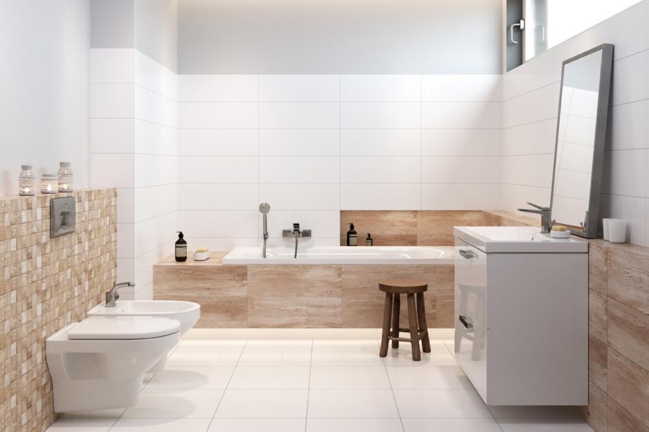 Płytki jak drewno: 5 kolekcji do łazienek