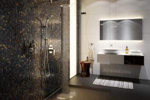 Nowoczesna łazienka: minimalizm z bateriami podtynkowymi