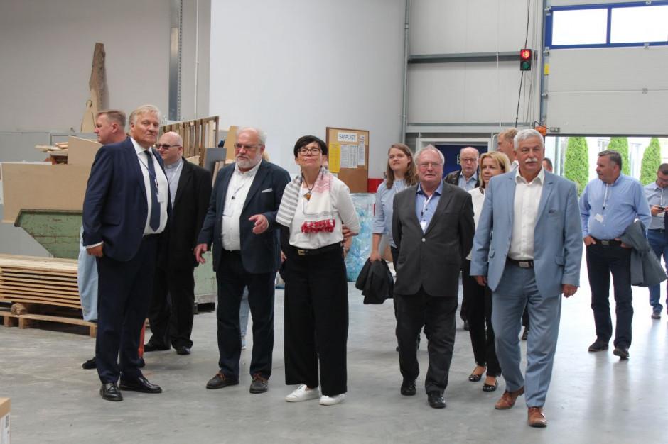 Sanplast zaprosił wyjątkowych gości z Niemiec do Wymysłowic