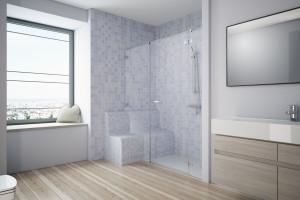 Prysznic dla seniora i osoby niepełnosprawnej - jak urządzić funkcjonalny?