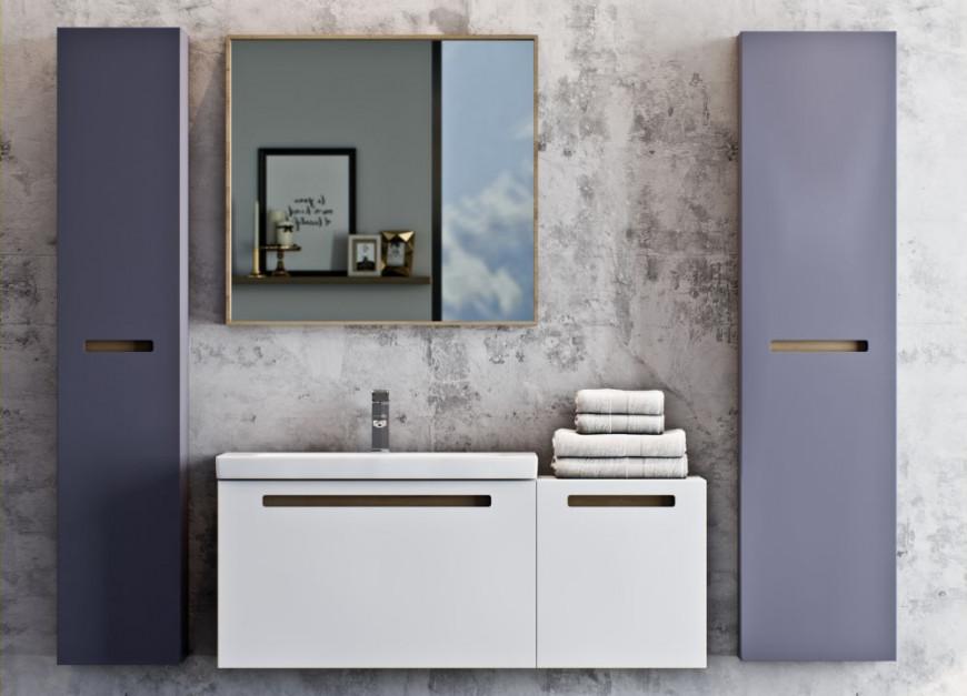 Meble łazienkowe: wybieramy szafkę pod umywalkę