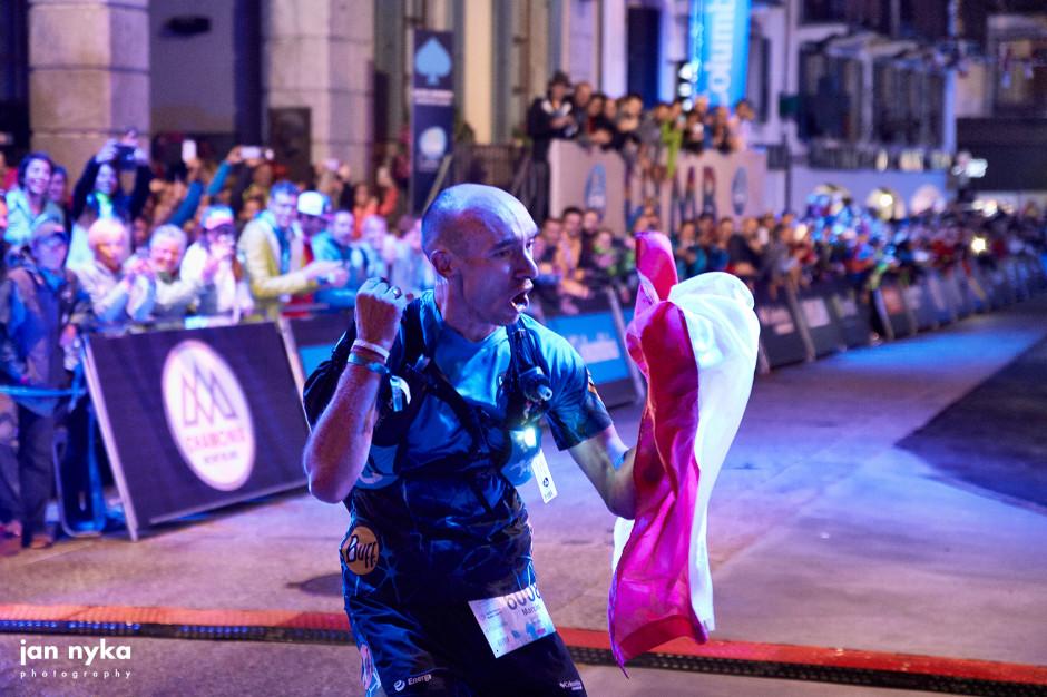 Marcin Świerc, wspierany przez firmę Geberit, zwycięzcą festiwalu UTMB w Chamonix
