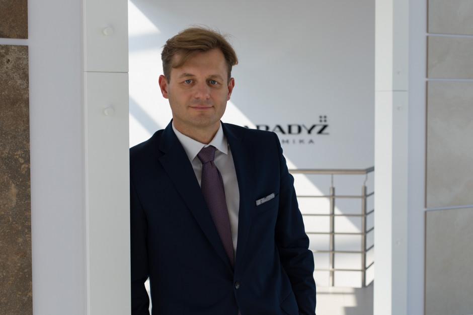 Michał Okoń nowym dyrektorem eksportu w Ceramice Paradyż