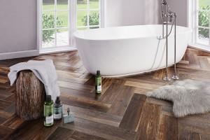 5 pomysłów na drewno w łazience