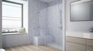 Strefa prysznicowa idealna dla seniora