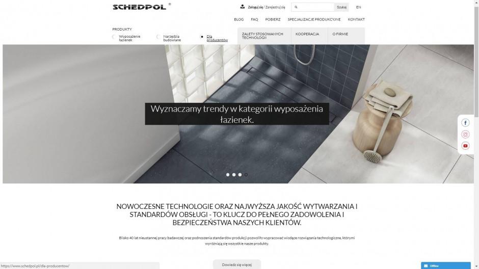 Zobacz jak wygląda nowa strona Schedpol