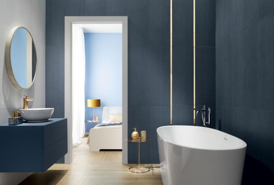 Aranżacja łazienki: postaw na eklektyzm kolorów i faktur