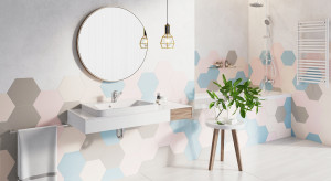 Aranżacja łazienki: zobacz propozycję w pastelowych kolorach