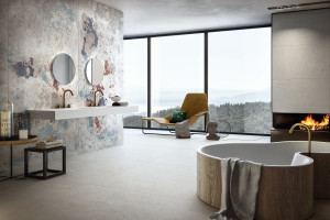 Wielkoformatowe płytki: zobacz modne kolekcje do łazienek