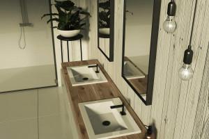 Urządź łazienkę tak, aby nie męczyć się przy sprzątaniu!