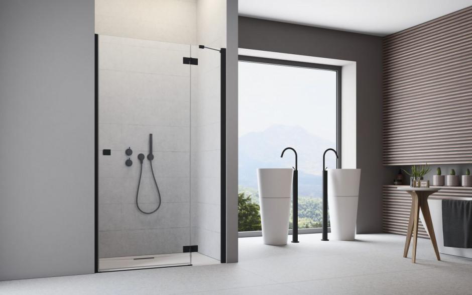3 sposoby na czerń w łazience