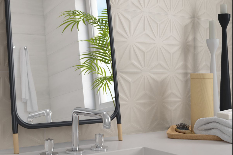 Płytki ceramiczne: 5 kolekcji 3D