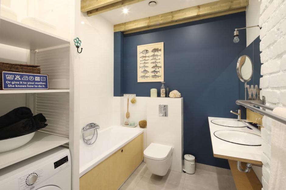 Łazienka w stylu marynistycznym: zobacz gotowy projekt