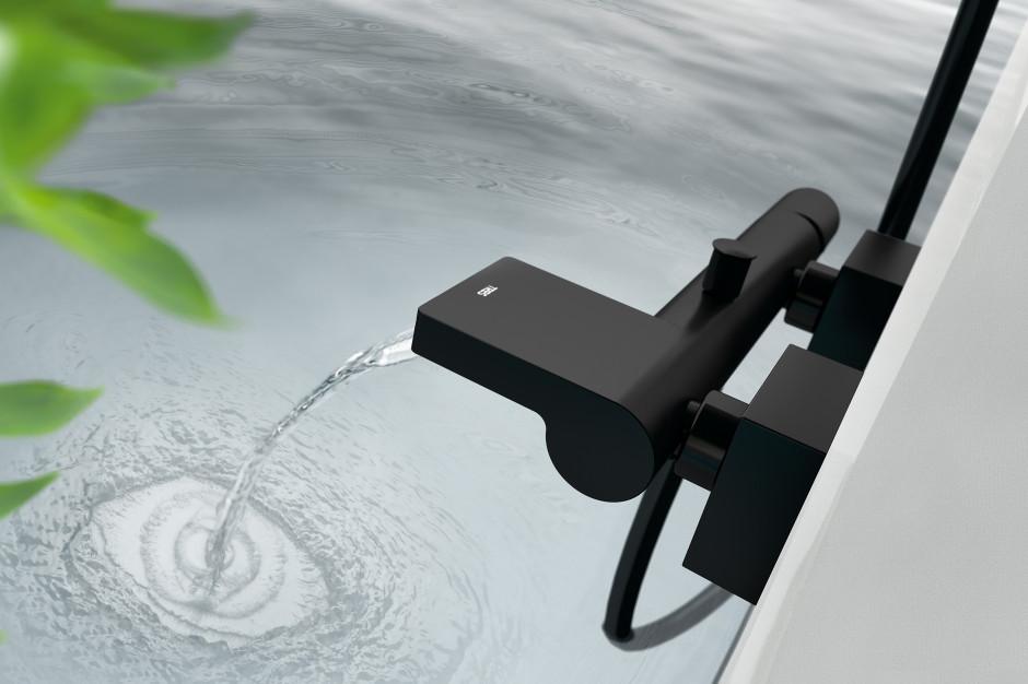 5 modeli czarnych baterii łazienkowych