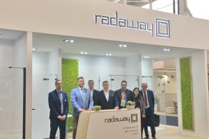 Zobacz jak prezentowało się stoisko Radaway na Cersaie 2018