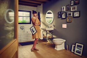 Łazienka w stylu retro: kolekcja zainspirowana latami 40. XX wieku